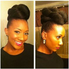 """""""@whytaimir please tell us how you achieved this fierce updo! #nhd #Naturalhair #teamnatural"""""""