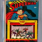 Superman #22 Comic Book Graded CGC 4.0