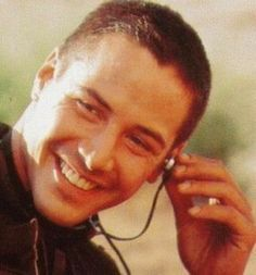 Keanu Reeves -speed - that smile!