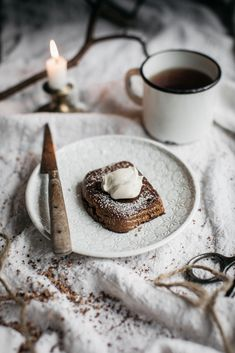 A subtly spicy, soft and fluffy banana bread that will become your new favourite afternoon treat.   Anisa Sabet   The Macadames   Food Styling   Food Photography   Props   Moody   Food Blogger   Recipes