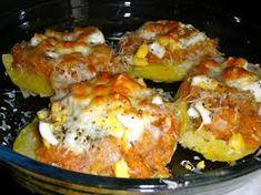 Patatas rellenas de atún - Recetízate