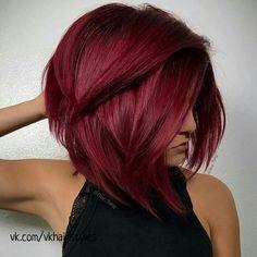 Hair styles Burgundy Hair Color Shades: Wine/ Maroon/ Burgundy Hair Dye Tips Keeping Your Shower Sta Dyed Tips, Hair Dye Tips, Hair Color Shades, Cool Hair Color, Hair Colour, Burgundy Hair Dye, Maroon Hair, Burgundy Wine, Short Burgundy Hair