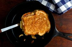 Sweet Potato and Toasted Pecan Grilled Cheese: View this and hundreds of other vegetarian recipes in the @The New York Times Eat Well Recipe Finder.