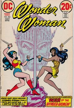 Wonder Woman (1942-1986 1st Series DC) #206 - June 1973 Issue - DC Comics - Grade VG/Fine