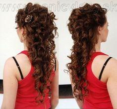 svadobné účesy dlhé vlasy - Hľadať Googlom