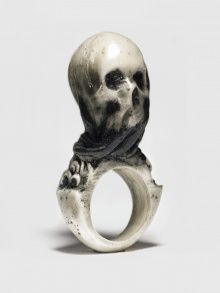 VEIL RING | MACABRE GADGETS | NOT JUST A LABEL | HARNESSES AND SKULLS