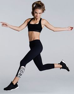 The Ava legging from Australian label Lilybod is perfect if you want to experiment with print without going all the way!