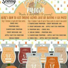 Make your own scents with these 6 bars morganboutwell.scentsy.us