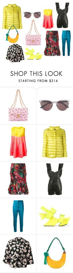 """""""mixed fashion"""" by kristen-stewart-2989 ❤ liked on Polyvore featuring Chanel, Gucci, Pleats Please by Issey Miyake, Herno, Jason Wu, Philosophy di Lorenzo Serafini, Haider Ackermann, Issey Miyake, Rochas and Muveil"""