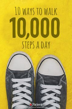 10 Ways to walk 10,000 steps everyday (and see the benefits) The guide to get you to do more exercise everyday. These 10 tips will help you walk more and get fit in a few months.  #fitness #exercise