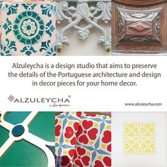 #Alzuleycha is a #design studio that aims to preserve the #details of the #Portuguese #architecture and #design in #decor pieces for your #home. <<>><<>><<>><<>><<>><<>><<>><<>>  #decoracao #decoratie #decoration #decoração #decor #decoraçãointeriores #dekorasyon #dekorasjon #dekoration #dekor #designinteriores #decoracaodeinteriores #interiordesign #inredning #sisustus #koristelu #homedecor #décoration #decoración #maisiú #skraut #dekoratioun #decorazione #inspiredcmnt #homedecor