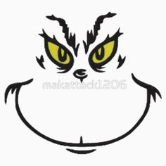 Grinch Face Images Il_570xn.176653288.jpg