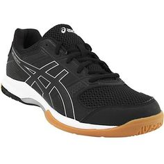 ddc045c81c Asics Gel Rocket 8 Volleyball Shoes - Mens Black Black White Asics  Volleyball Shoes