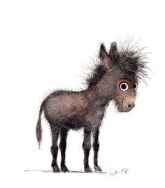warm up Wiebke Rauers illustration♥♥ Cute Animal Illustration, Cute Animal Drawings, Cute Drawings, Illustration Art, Funny Animals, Cute Animals, Cute Cartoon, Cute Art, Cute Pictures