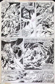 BYRNE, JOHN / TERRY AUSTIN - Uncanny X-Men #113 pg 27, Phoenix, X-Men force…