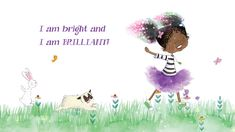Princess Truly — the star of Princess Truly in I Am Truly and Princess Truly in My Magical Sparkling Curls by Kelly Greenawalt with illustrations by Amariah . Do Anything, Princess, Illustration, Books, Movie Posters, Libros, Book, Film Poster, Illustrations