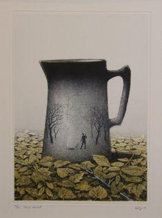 Unusual Art, Haiku, Finland, Printmaking, Illustration, Landscapes, Prints, Graphics, Paintings