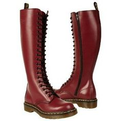 Dr. Martens Cherry Red Women's 1B60 W Shoe