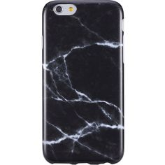 Amazon.com: iPhone 6 Plus Case for Men,Black Marble design, VIVIBIN... ($8.98) ❤ liked on Polyvore featuring men's fashion, men's accessories and men's tech accessories