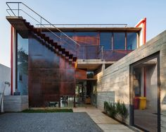 Pepiguari House is a private residence designed byBrasil Arquiteturain 2013.  It is located inSão Paulo,Brazil.
