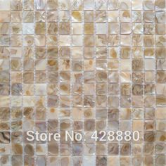 Green tile Iridescent abalone paua mother of pearl tiles ...