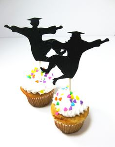 Cupcake Decorating Ideas For Seniors : 1000+ images about graduation ideas on Pinterest ...
