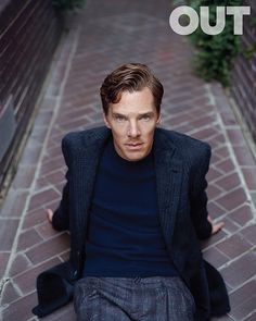 Out Magazine -Benedict Cumberbatch