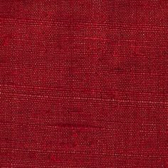 ANICHINI Fabrics | Kanishka 39 Hand Loomed Silk - a red silk fabric
