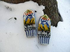 Ravelry: Птички - синички / Little Titbirds pattern by Natalia Moreva