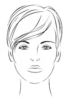 Blank face chart make up hair and all things beautiful be beautiful by lolie 20 face charts blank 20 portraits vierges pronofoot35fo Gallery