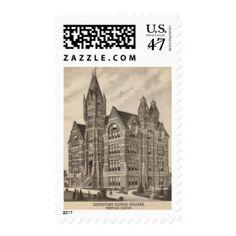 South West Kansas College, Winfield, Kansas Stamp