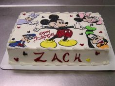Perfect Cake for a Disney Lover