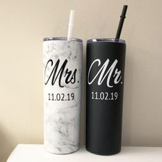 Personalized Bridal Shower Gifts, Personalized Tumblers, Custom Tumblers, Bride And Groom Gifts, Bride Groom, Wedding Gift Ideas For Bride And Groom, Wedding Ideas, Bachelorette Cups, Tumbler Designs