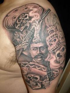 Mexican Revolution Tattoos : mexican, revolution, tattoos, Mexican, Style, Donkey, Tattoo, Designs, Ideas, Designs,, Tattoo,