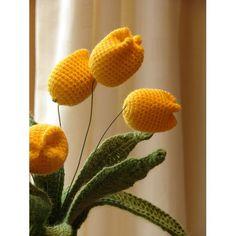 (PDF PATTERN) Flower - Spring Tulip ($0.00 free pattern)