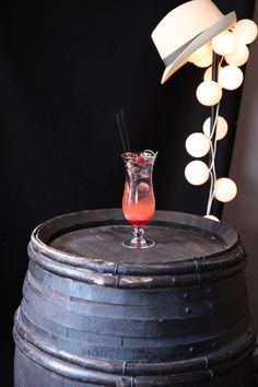 Fizzy Mediterranean, with Anise Syrup 1883. #Cocktail #Bartender