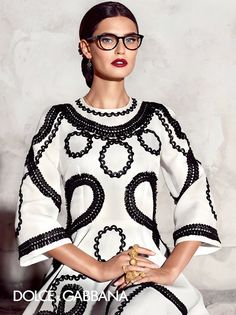From polka dots to lace and classic black diva sunglasses enjoy the Dolce&Gabbana Eyewear Spanish-inspired spring 2015 collection modeled by Bianca Balti in ...