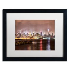 'Midtown Manhattan' by David Ayash Framed Photographic Print