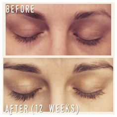 Grow your lashes NATURALLY! Fuller, longer, darker lashes AND eyebrows!