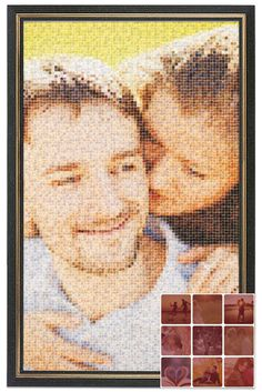 A picture is worth a thousand words. Let your loved ones see how much you care with a photo mosaic! Mozaus.com Collage Maker Online, Photo Collage Maker, Photo Mosaic, Perfect Photo, Create Your Own, First Love, Best Gifts, Memories, Words