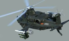 The Z-10 is the new Chinese attack helicopter. It's development began in the mid-1990s. Prototype of the Z-10 made it's maiden flight in 2003. It seems that initial production gunships were delivered to the Chinese army in 2009-2010. It is the first dedicated modern Chinese attack helicopter. Primary mission of the Z-10 is anti-armor and battlefield interdiction. It also has some limited air-to-air combat capabilities.