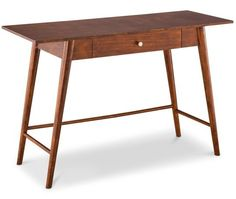 Mid-Century Modern Style Furniture & Decor from Big-Box Stores Mid Century Modern Desk/Console Table at Target, $118.99
