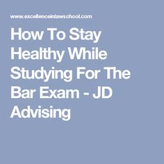 how to stay healthy during exam Are you stressed about exams is it taking from your healthy habits come join skyler and alina, and learn how to stay healthy during exams references: canadian society for exercise physiology.