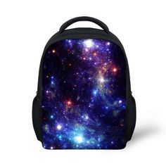 New janpan style star backpack multi-color boys and girls backpack,children school backpacks,travel bags galaxy backpack bolsas