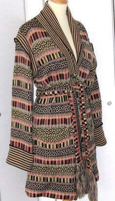 Bill Gibb vintage cardigan, designed by Kaffee Fassett, size 12-14, ends 30 Oct http://www.ebay.co.uk/itm/200977293576?ssPageName=STRK:MESCX:IT&_trksid=p3984.m1554.l2649