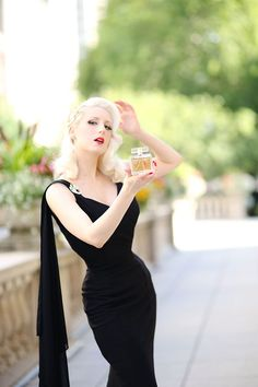 """""""Glamour that lingers."""" This was my description of MAIR fragrance during my introductory post earlier this year. High Fashion Photography, Modeling Photography, Lifestyle Photography, Editorial Photography, Chiffon Shoulder, The Pretty Dress Company, Pin Up Outfits, Blonde Women, Wiggle Dress"""