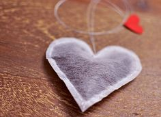 Lovingly #Stitched #Infusions - These Heart-Shaped #Teabags