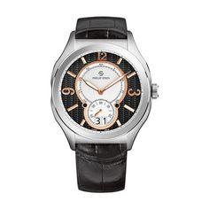 00e582d7592 Reloj de pulsera con correa de piel de cocodrilo de Philip Stein