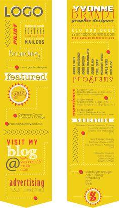 Resume Design: Yvonne Brandt