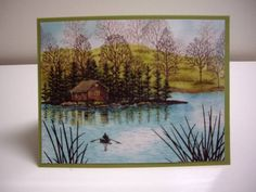 Serenity by Laurie Thompson - Cards and Paper Crafts at Splitcoaststampers